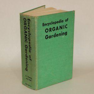 Encyclopedia of Organic Gardening Light Green book